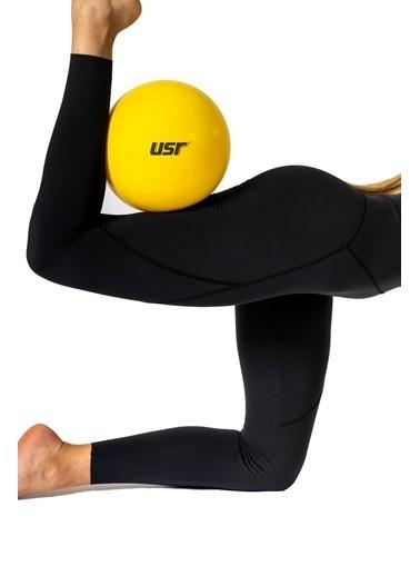 Usr USR 25 + 65 Cm Pilates Topu + Pompa + 2 Lastik Bant Sarı